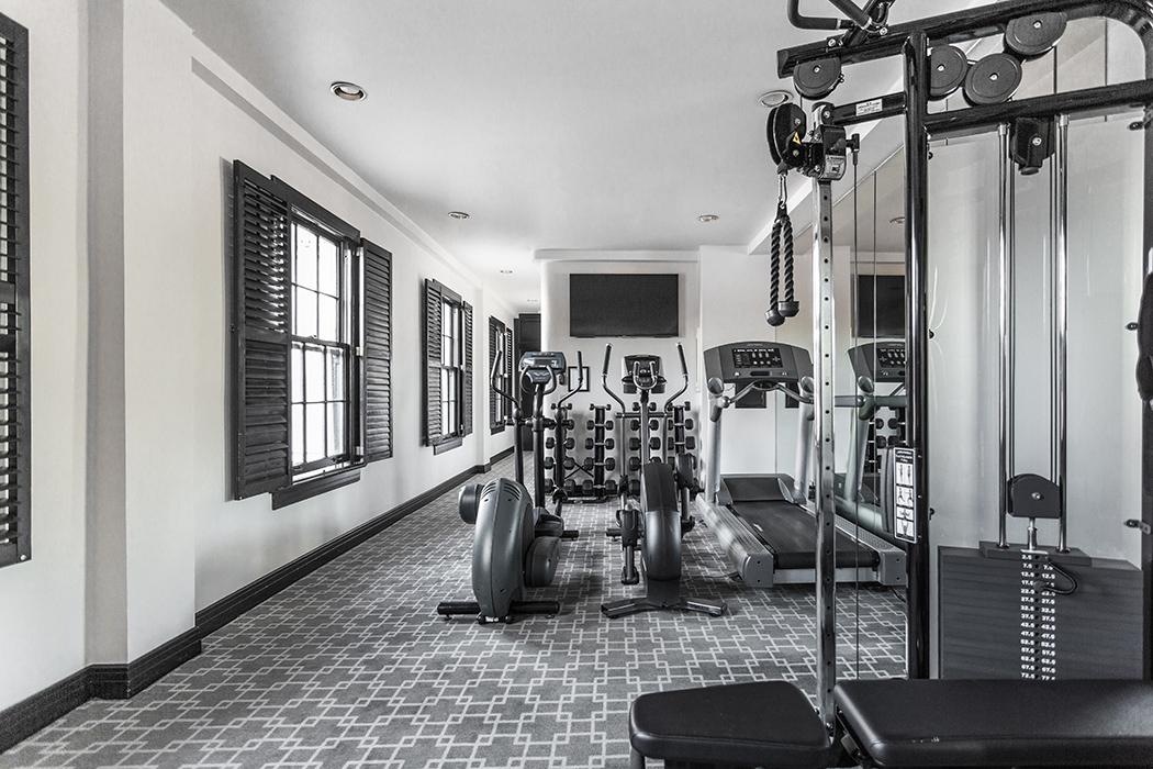 santa barbara hotel Gym