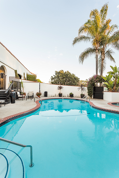 santa barbara luxury hotel suites Pool