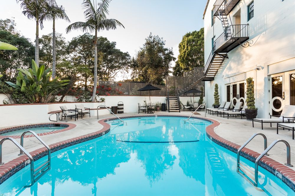 accommodations santa barbara resort pool