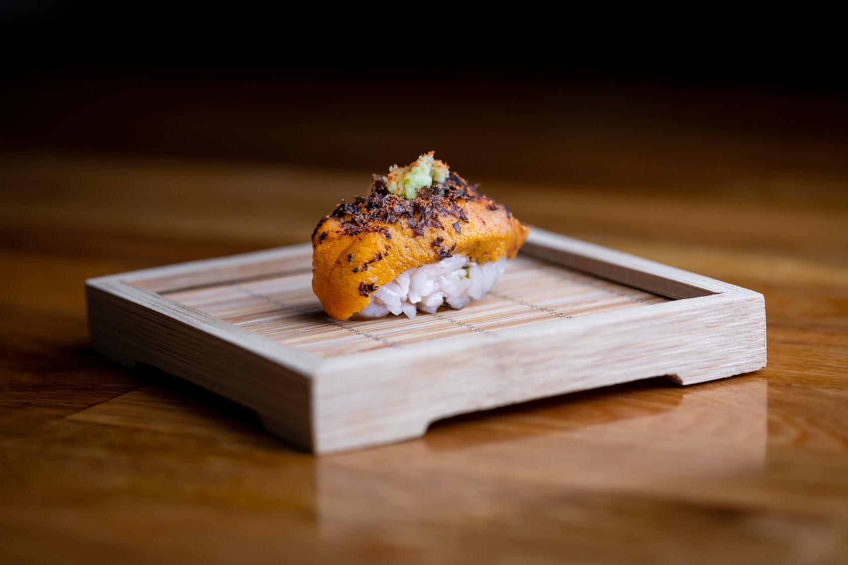 sushi at the montecito inn