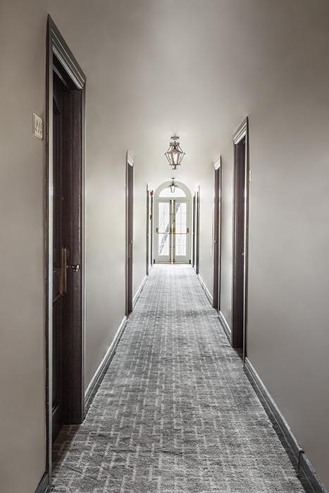 Montecito Inn Guest Rooms Hallway