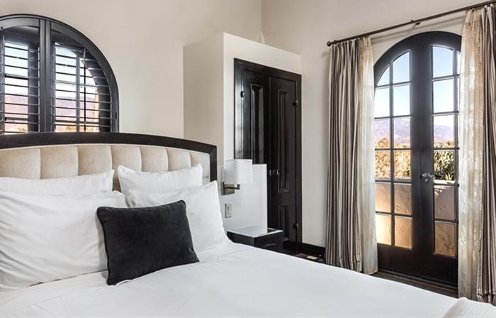 bedroom gallery.  santa barbara hotel Tower Suite Santa Barbara Historic Hotel Photo Gallery