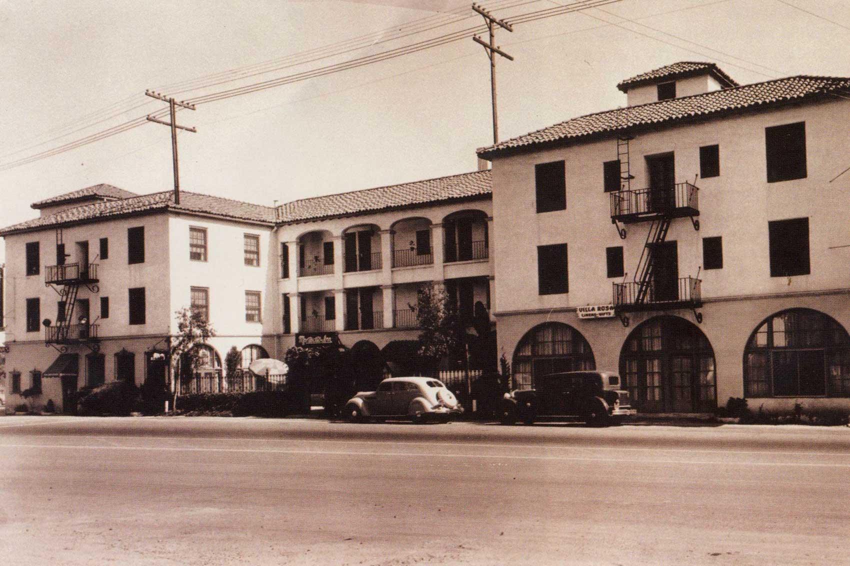 santa barbara historic hotel